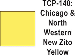 Tru Color TCP-140 Chicago North Western Zito Yellow, Paint (1 Ounce)