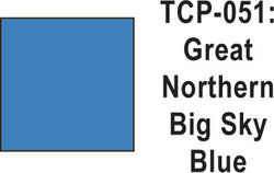 Tru Color TCP-51 Great Northern Big Sky Blue 1 ounce