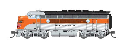 Broadway Limited 3796 N, EMD F3A, Unpowered F3B, Paragon 3 Sound, WP, 801A, 801C