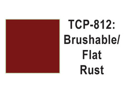 Tru-Color TCP-812 Flat Rust Paint 1 Fluid Ounce