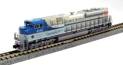 Kato 176-8411-DCC N SD70ACe, TCS Installed DCC, Union Pacific, George Bush #4141