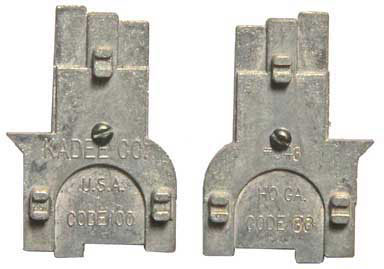Kadee 343 HO Track Gauge, Code 83 and Code 100 Track (1 piece)