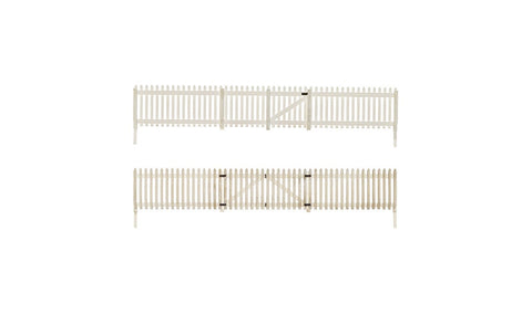 Woodland Scenics 2984 HO, Picket Fence, 26.5 inches