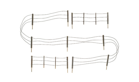 Woodland Scenics 2990 N, Barbed Wire Fence, 14.5 inches