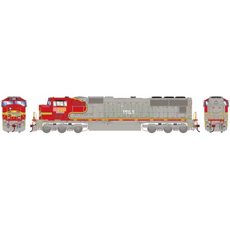 Athearn Genesis 70652 HO, SD75M, Tsunami 2 DCC and Sound, LED Light, Progress Rail, PRLX, 250