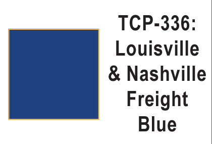 Tru Color TCP-336 Louisville and Nashville, Freight Blue, Paint 1 ounce