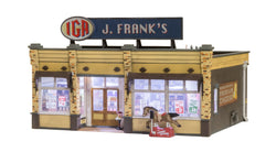Woodland Scenics 5851 O, J. Frank's Grocery, Built n Ready