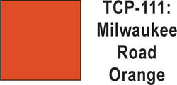 Tru Color TCP-111 Milwaukee Road Orange Paint 1 ounce