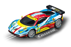 Carrera 64053 Go!!!, 1:43 Electric Slot Car, Ferrari 458 Italia GT2, AF Corse, No. 51