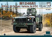 Panda 35027, 1:35 Scale, M1240A1 MRAP All-Terrain Vehicle, M-ATV