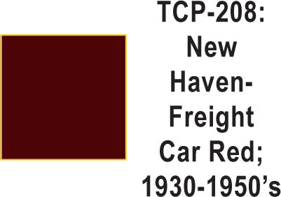 Tru Color TCP-208 New Haven 1930-50's Freight Car Red Paint 1 ounce