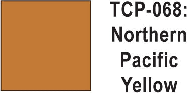 Tru Color TCP-68 Northern Pacific Yellow Paint 1 ounce