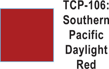 Tru Color TCP-106 Southern Pacific Daylight Red Paint 1 ounce
