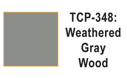 Tru Color TCP-348 Weathered Wood, Gray, Paint 1 ounce