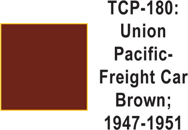 Tru Color TCP-180 Union Pacific 44-60s Freight Car Brown Paint 1 ounce
