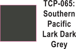 Tru Color TCP-65 Southern Pacific Lark Dark Gray Paint 1 ounce