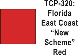 Tru Color TCP-320 Florida East Coast, New Scheme (Modern) Red Paint 1 ounce