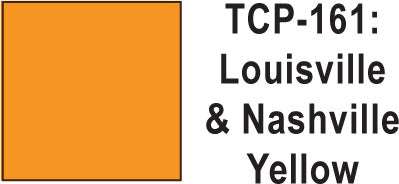 Tru-Color TCP-161 Louisville and Nashville Yellow 1 Fluid Ounce
