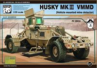 Panda Hobby 35014, 1:35 Scale, Husky MK III Vehicle Mounted Mine Detector