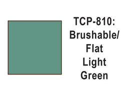 Tru-Color TCP-810 Flat Light Green Paint 1 Fluid Ounce