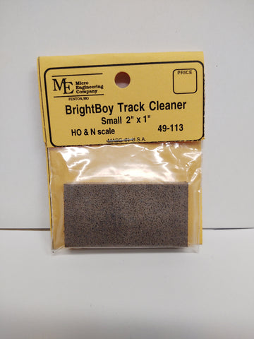 Micro Engineering 49-113, Bright Boy, Track Cleaner, Track Eraser