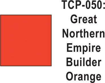 Tru Color TCP-50 Great Northern Empire Builder Orange 1 ounce