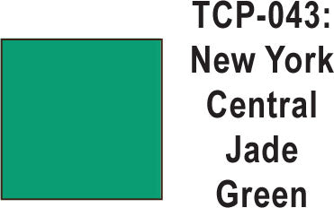 Tru Color TCP-43 New York Central Jade Green Paint 1 ounce