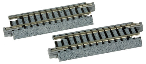 "Kato 20-030 N Unitrack 2-1/2"" (64mm) Straight (2 Pieces)"
