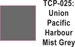 Tru Color TCP-25 Union Pacific Harbour Mist Gray Paint 1 ounce