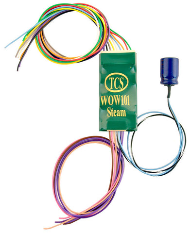 Train Control Systems 1516 WOW101-STEAM Sound Decoder, 6 Function