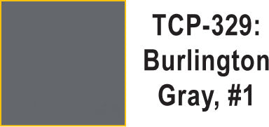 Tru Color TCP-329 Burlington Gray #1 Paint 1 ounce