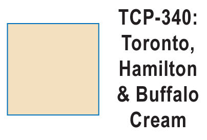 Tru Color TCP-340 Toronto Hamilton and Buffalo, Cream, Paint 1 ounce