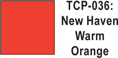 Tru Color TCP-36 New Haven Warm Orange Paint 1 ounce
