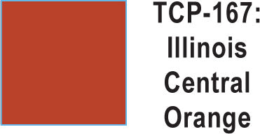 Tru Color TCP-167 Illinois Central Orange Paint 1 ounce