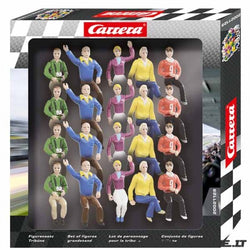 Carrera 21129 1:32, Set of Figures, Grandstand Fans