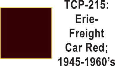 Tru-Color TCP-215 Erie 1945-60 Freight Car Brown
