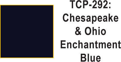 Tru Color TCP-292 Chesapeake and Ohio Enchantment Blue  1 ounce
