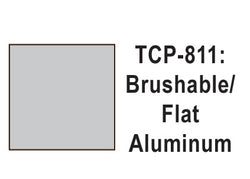 Tru-Color TCP-811 Flat Aluminum Paint 1 Fluid Ounce