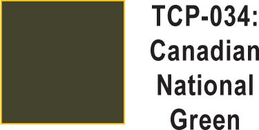 Tru Color TCP-34 Canadian National Green Paint 1 ounce