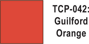 Tru Color TCP-42 Guilford Orange Paint 1 ounce