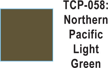 Tru Color TCP-58 Northern Pacific Light Green Paint 1 ounce