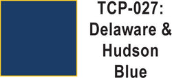 Tru Color TCP-27 Delaware and Hudson Blue Paint 1 ounce