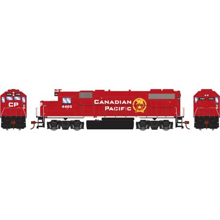 Roundhouse 14629 HO, GP38-2 Diesel Locomotive, DCC Ready, Canadian Pacific, CP, 4405