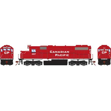 Roundhouse 14631 HO, GP38-2 Diesel Locomotive, DCC Ready, Canadian Pacific, CP, 4427
