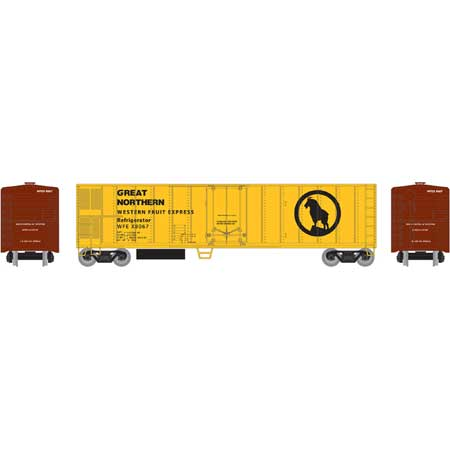 Roundhouse 71676 HO, 50' Smooth Side Mechanical Reefer Car, WFE, X8067