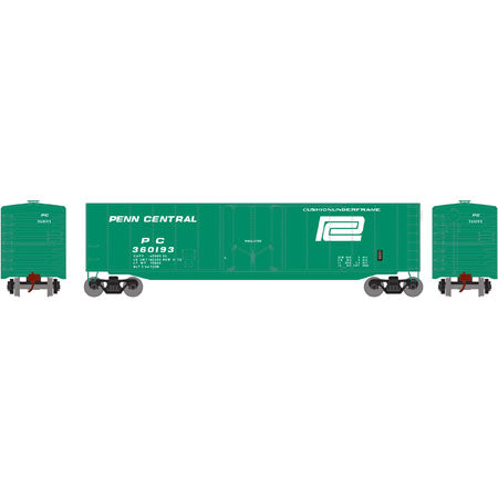 Roundhouse 79110 HO 50' PD Smooth Side Boxcar, Penn Central, PC, 360193