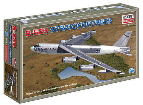 Minicraft Models 14615 1/144 Scale USAF B-52H, Original Strategic Air Comand and Cold War Era Markings