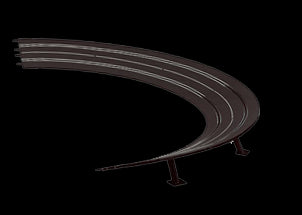 Carrera 20576 Digital 1:24, Digital 1:32, Evolution, High Banked Curves 3/30°, with Supports