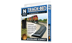 Woodland Scenics 1475 N, Track-Bed Roll, Foam, 24' 7.31m