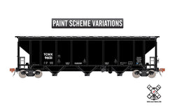 Scale Trains 30349 HO, Thrall 4727cf Carbon Black Covered Hopper, Rivet Counter, TCMX, 96146